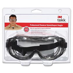 3M Protective Eyewear, Wraparound, Adj.Headband, Clear