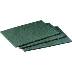 """Scotch™ Green Scrubbing Pads, 6""""x9"""""""