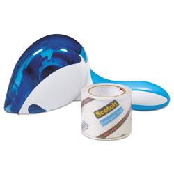 Scotch™ Easy Grip Tape Dispenser, 1 Dispenser & 1 Roll at 1.88 in x 600 in