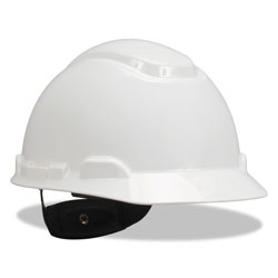 3M H-700 Series Hard Hat with Four Point Ratchet Suspension, White