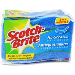 Scotch Brite® Multipurpose Scrub Sponge, 4-1/2 in x 2-3/4 in, 8PK/CT, Blue