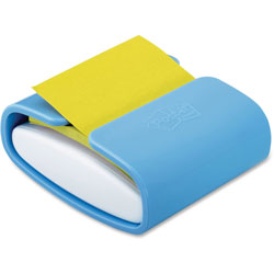 Post-it® Wrap Dispenser, For 3 x 3 Pads, White/Periwinkle