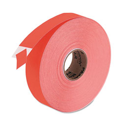 Monarch Easy-Load One-Line Labels for Pricemarker 1131, 0.44 x 0.88, Fluorescent Red, 2,500/Roll