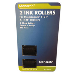 Riverside Paper 925403 Replacement Ink Rollers, Black, 2/Pack