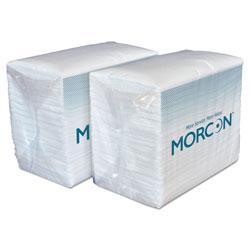 Morcon Paper Morsoft Dinner Napkins, 2-Ply, 14.5 x 16.5, White, 3,000/Carton