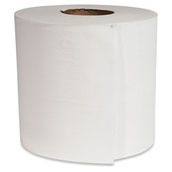 Morcon Paper Morsoft Center-Pull Roll Towels, 7.5 in dia., White, 600 Sheets/Roll, 6 Rolls/Carton