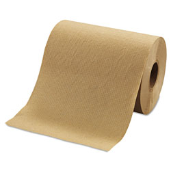 Morcon Paper Morsoft Universal Roll Towels, 8 in x 350 ft, Brown, 12 Rolls/Carton