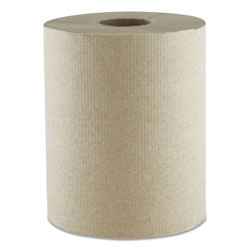 Morcon Paper Morsoft Universal Roll Towels, Kraft, 1-Ply, 600 ft, 7.8 in Dia, 12 Rolls/Carton