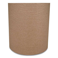 Morcon Paper Morsoft Universal Roll Towels, 8 in x 800 ft, Brown, 6 Rolls/Carton
