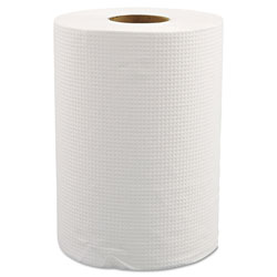 Morcon Paper Morsoft Universal Roll Towels, 8 in x 350 ft, White, 12 Rolls/Carton