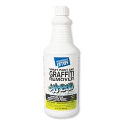 Motsenbocker's Lift-Off® 4 Spray Paint Graffiti Remover, 32oz, Bottle, 6/Carton