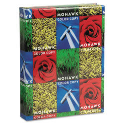 Mohawk/Strathmore Papers Color Copy 98 Paper and Cover Stock, 98 Bright, 80lb, 8.5 x 11, 250/Pack