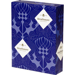 Mohawk/Strathmore Papers Wove Copy Paper, 8 1/2 inx11 in, White, 24 LB, One Ream