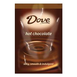 Dove® Chocolate FLAVIA Hot Chocolate Freshpacks, Milk Chocolate, 0.66 oz FreshPack, 72 Packets/Carton