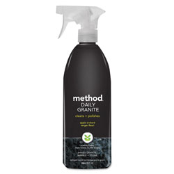 Method Products Daily Granite Cleaner, Apple Orchard Scent, 28 oz Spray Bottle