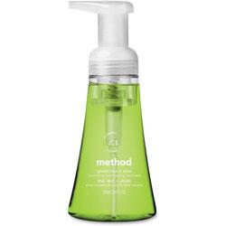 Method Products Foaming Hand Wash, Green Tea/Aloe, 10 oz Pump Bottle, 6/Carton