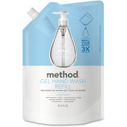 Method Products Gel Hand Wash Refill, Sweet Water, 34 oz Pouch