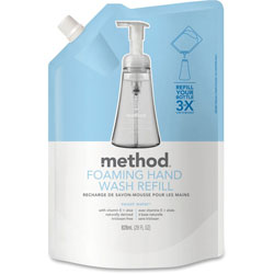 Method Products Foaming Hand Wash Refill, Sweet Water, 28 oz Pouch