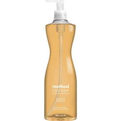 Method Products Dish Soap, Clementine, 18 oz Pump Bottle
