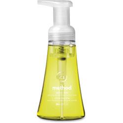 Method Products Foaming Hand Wash, Lemon Mint, 10 oz Pump Bottle, 6/Carton