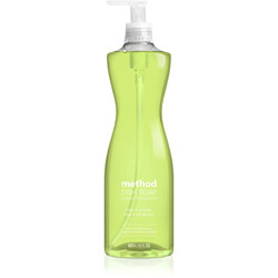 Method Products Dish Soap Pump, 18 oz., 6/CT, Lime Seasalt