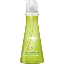 Method Products Dish Soap, Lime & Sea Salt, 18 oz Pump Bottle