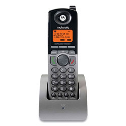 Motorola Unison 1–4 Line Corded/Cordless System, Cordless Handset