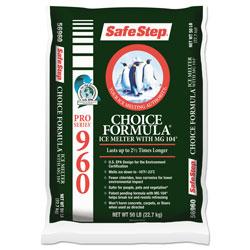Safe Step® Pro Enviro Ice Melt, 50lb Bag, 49/Carton
