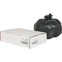 Nature Saver Recycled Black Trash Bags, 10 Gallon, Box of 500