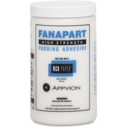 NCR Fanapart Padding Adhesive, High Strength, 1 qt., Bottles