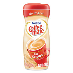 Coffee-Mate® Non-Dairy Powdered Creamer, Original, 22 oz Canister, 12/Carton