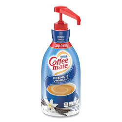 Coffee-Mate® Liquid Coffee Creamer, French Vanilla, 1500mL Pump Bottle