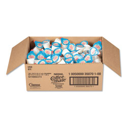 Coffee-Mate® Liquid Coffee Creamer, French Vanilla, 0.38 oz Mini Cups, 180/Carton