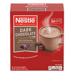 Nestle Hot Cocoa Mix, Dark Chocolate, 0.71 oz, 50/Box