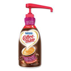 Nestle Liquid Creamer Pump Bottle, Salted Caramel Chocolate, 1.5 Liter