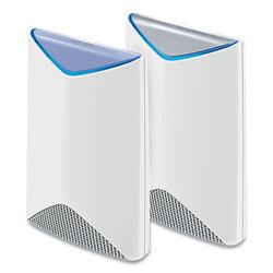 Netgear Orbi Pro Business Wi-Fi System, 4 Ports, Tri-Band 2.4 GHz/5 GHz