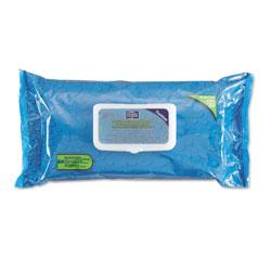 Nice-Pak Hygea Adult Wash Cloths, 9 1/2 x 11 1/2, White, 60 Wipes/Tub, 6 Tubs/Carton