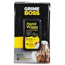 Sani Professional Heavy-Duty Hand Wipes, 9 4/5 x 8 1/5, White, 60 Wipes