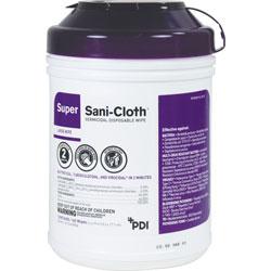 Nice-Pak Sani Cloth Wipes, Super, 6 in x 6-3/4 in, 160 Wipes