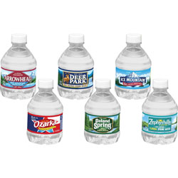 Nestle Natural Spring Water, 8oz, 48/CT, Blue