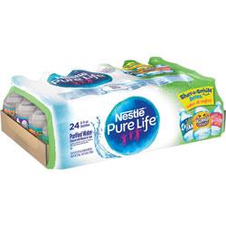 Nestle Purelife Water, 8oz., 24/CT, Blue
