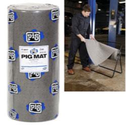 PIG® Universal Medium-Weight Absorbent Mat Roll - 30 in x 150' (180 Pads per Roll)