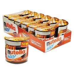 Nutella Hazelnut Spread and Pretzel Sticks, 2.32 oz Pack, 12/Box