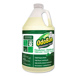 OdoBan® Concentrated Odor Eliminator, Eucalyptus, 1gal Bottle, 4/Carton