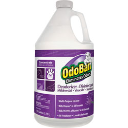 OdoBan® Odor Eliminator, Concentrate, Lavender Scent, 1-Gallon