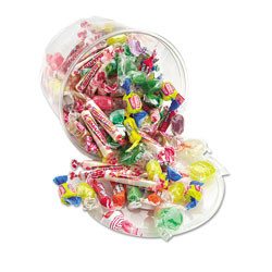 Office Snax All Tyme Favorite Assorted Candies and Gum, 2 lb Resealable Plastic Tub