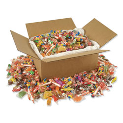 Office Snax All Tyme Favorites Candy Mix, Individually Wrapped, 10 lb Value Size Box