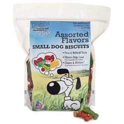 Office Snax Doggie Biscuits, Assorted, 4 lb Bag