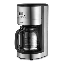 CoffeePro Home/Office Euro Style Coffee Maker, Stainless Steel