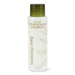 Basic Elements Conditioning Shampoo, Clean Scent, 1 oz, 200/Carton